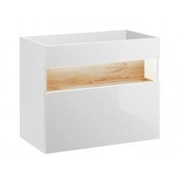 BAHAMA WHITE 821 - szafka pod umywalkę 80 cm
