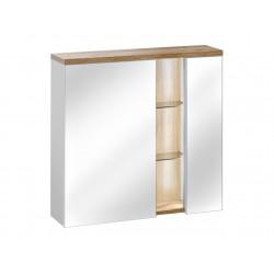 BAHAMA WHITE 841 - szafka z lustrem 80 cm