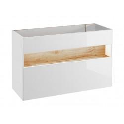 BAHAMA WHITE 854 - szafka pod umywalkę 120 cm