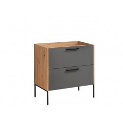 MADERA GREY 821 - szafka pod umywalkę 80 cm