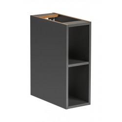 MONAKO GREY 810 - szafka dolna otwarta 20 cm