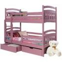 Łóżka piętrowe 2-osobowe
